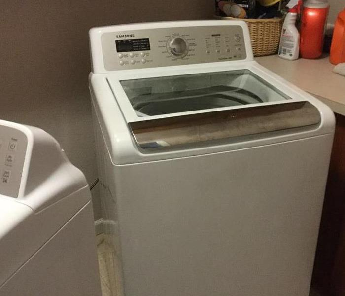 Water Damage Due to Washing Machine
