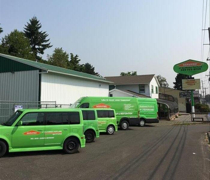 General SERVPRO of Southwest Portland New Location
