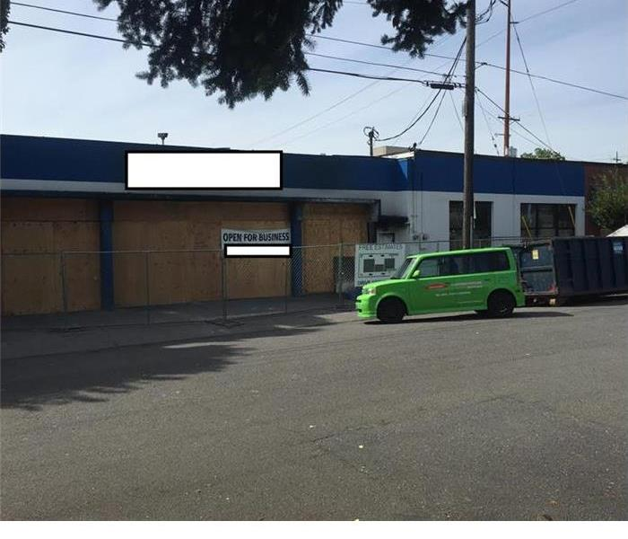 Commercial Auto Repair Shop Suffers Fire Damage