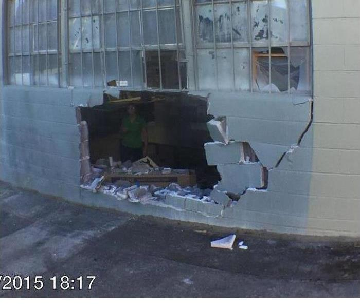 Commercial Vandalism of Commercial Building
